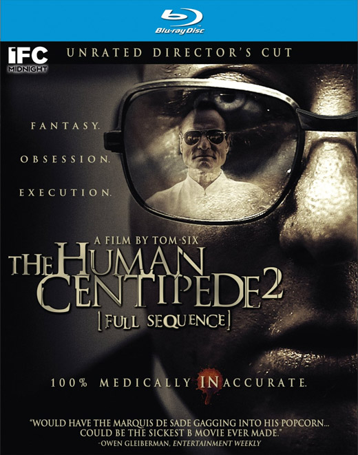 Click to see The Human Centipede 2 unrated director's cut Blu-Ray