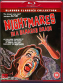 Nightmares in a Damaged Brain (1981) on BluRay